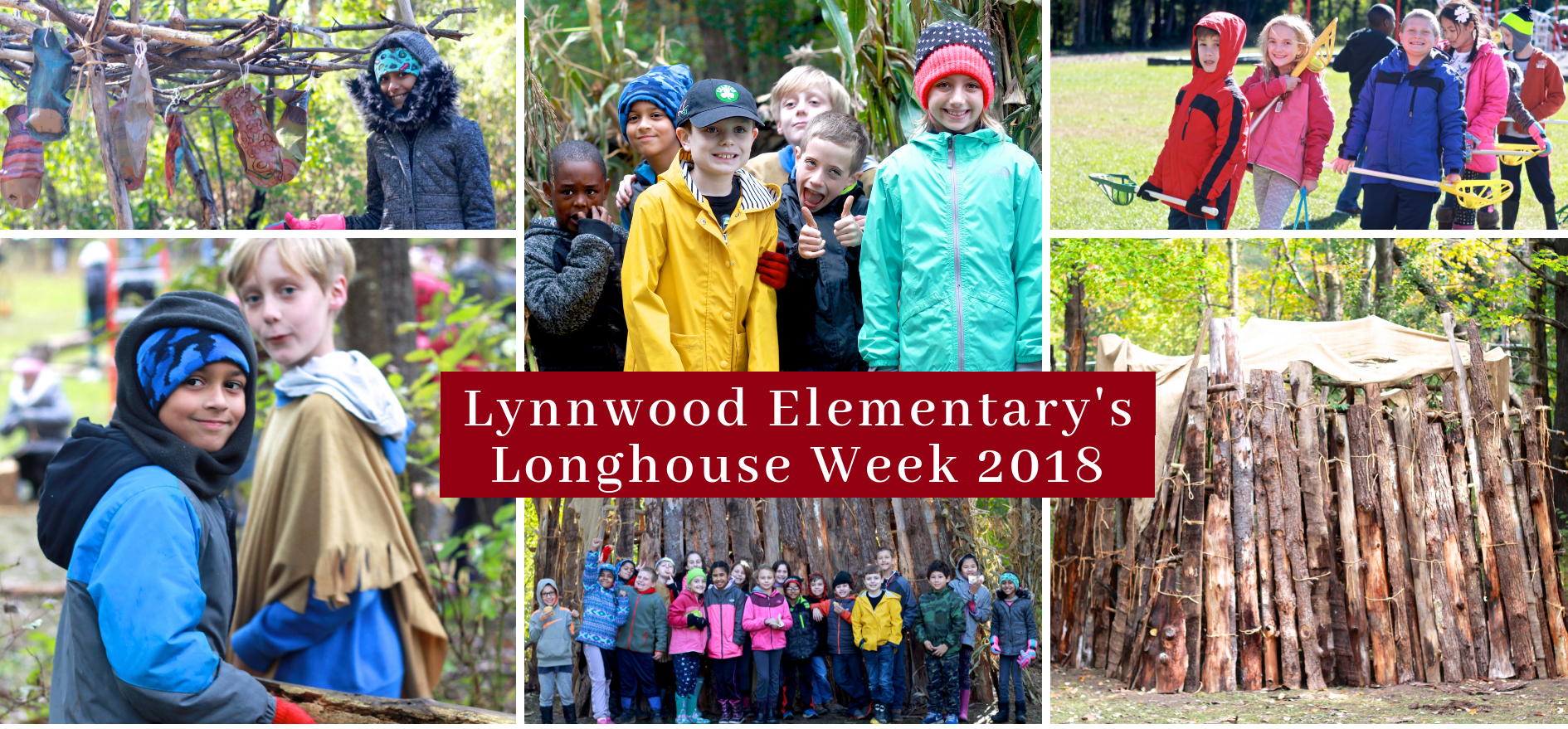 Collage of photos from this year's Longhouse Week at LES
