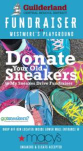 Crossgates Sneakers Fundraiser Poster