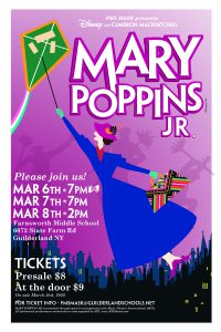 FMS MASK poster of Mary Poppins Jr.