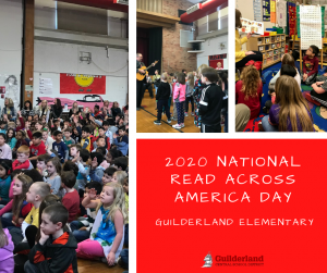2020 National Read Across America Day at Guilderland Elementary