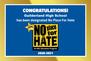 Guilderland HS designated Gold Star No Place For Hate School