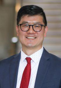 Inho Suh, new transportation director, smiling.